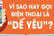 Thú vị: Vì sao người dùng Việt hay gọi điện thoại là dế yêu?