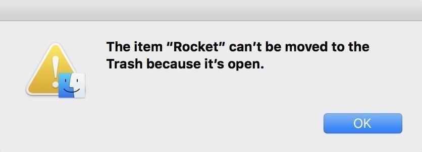 Xoá ứng dụng đang mở và bị treo trên Mac OS