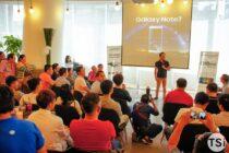 Mai Nguyên tổ chức Offline ra mắt Galaxy Note7