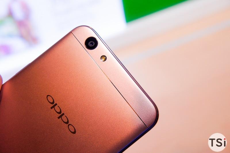 Ảnh thực tế Oppo F1s: gọn, camera selfie nét, dễ hiệu chỉnh