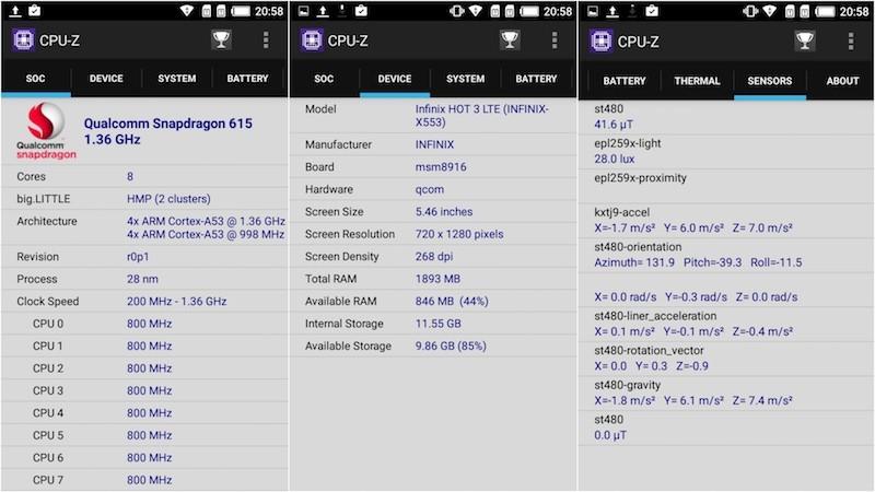 Thông tin CPU-Z