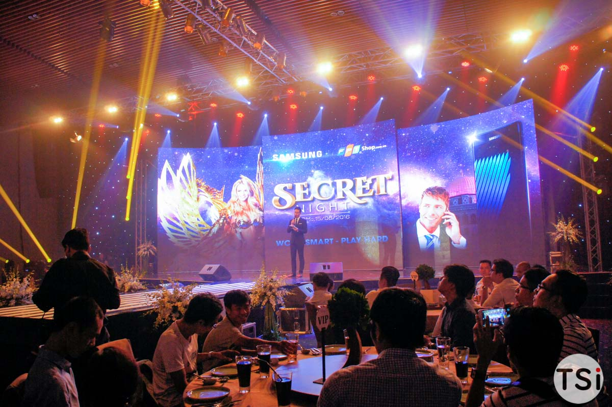 """FPT Shop tổ chức sự kiện """"Secret Night"""" giới thiệu Galaxy Note7"""