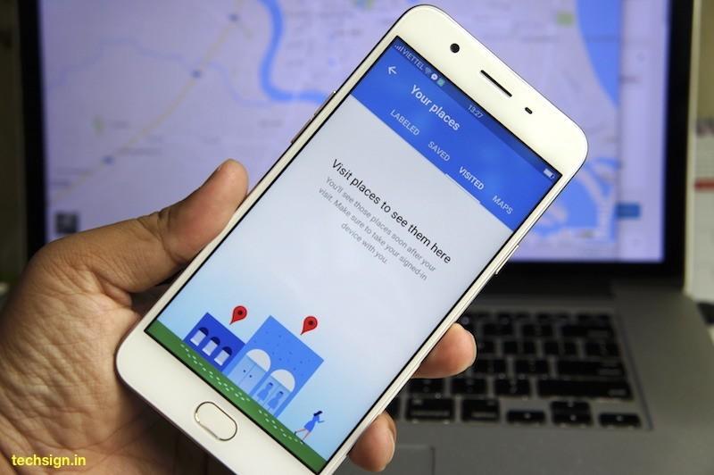 Google cho phép lập danh sách những nơi đã đi trên Maps