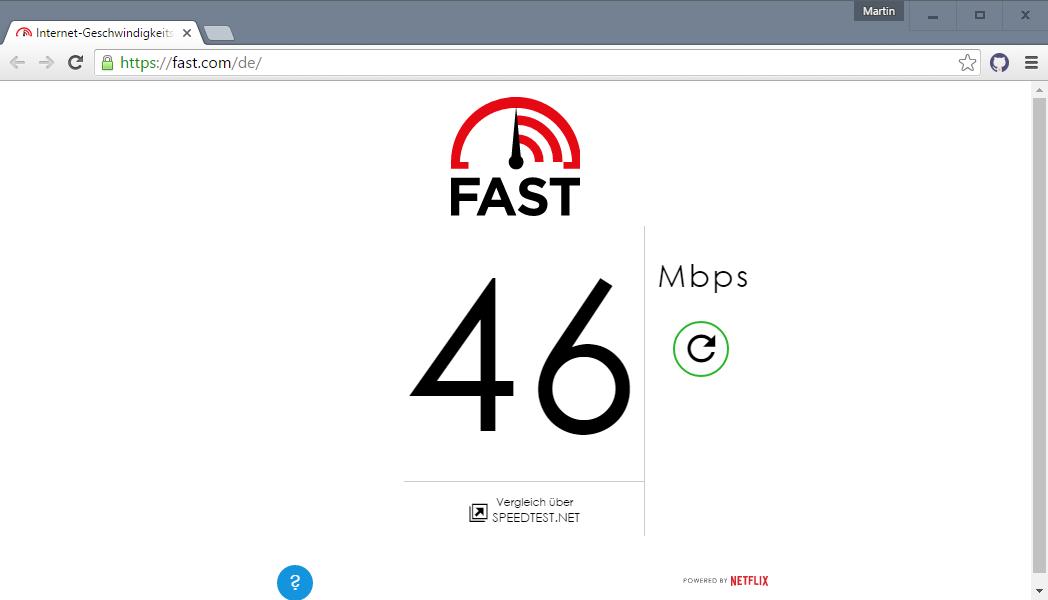 Kiểm tra tốc độ kết nối internet của bạn với HTML5, tại sao không?