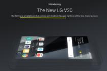 LG V20 sẽ là smartphone đầu tiên chạy Android Nougat