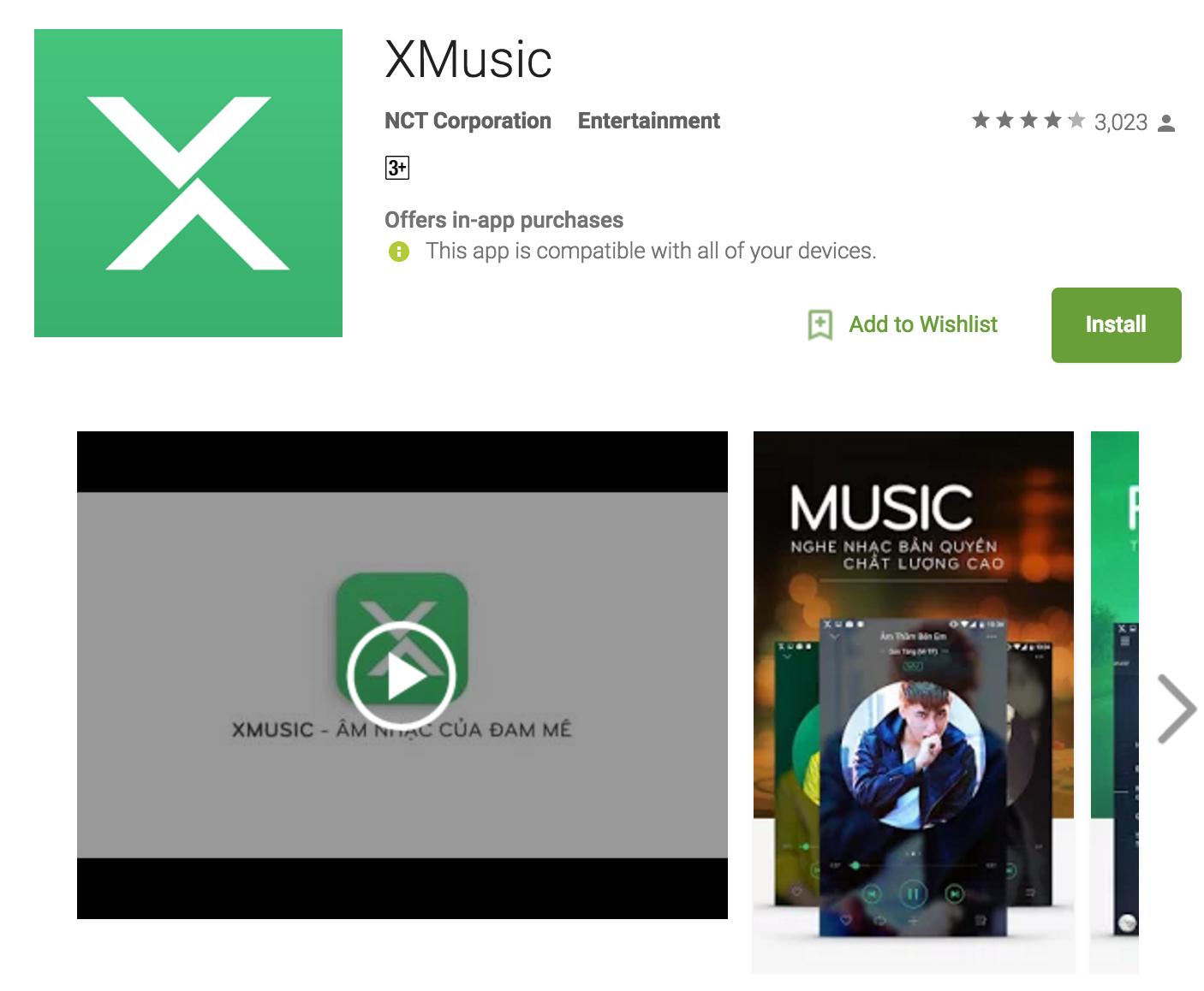 NhacCuaTui tung ứng dụng nghe nhạc bản quyền XMusic ...