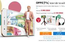 Oppo F1s lập kỷ lục 6.000 đơn hàng trong 2 ngày pre-order