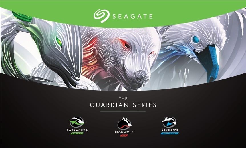 Seagate thay đổi hình ảnh nhận diện thương hiệu cho dòng ổ cứng gắn trong