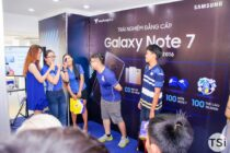 Viễn Thông A tổ chức offline trải nghiệm Samsung Galaxy Note7
