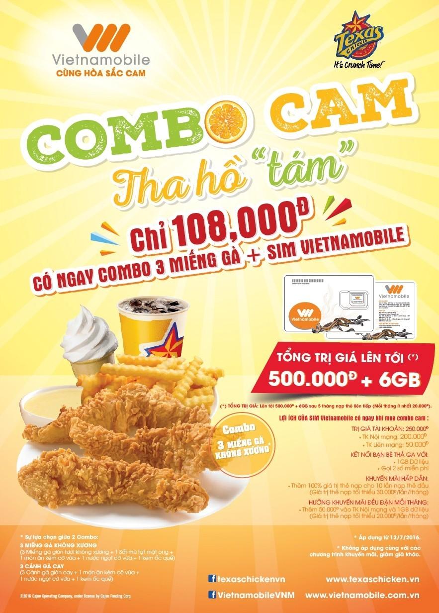 Vietnamobile bắt tay với cửa hàng thức ăn nhanh phân phối sản phẩm