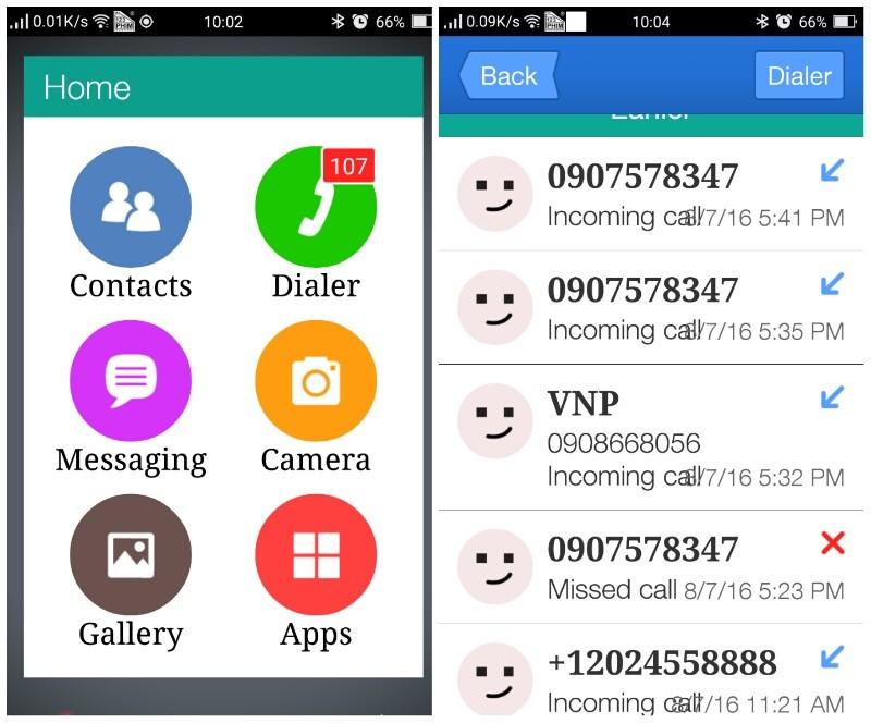 Tùy biến giao diện Android để người lớn tuổi có thể dùng
