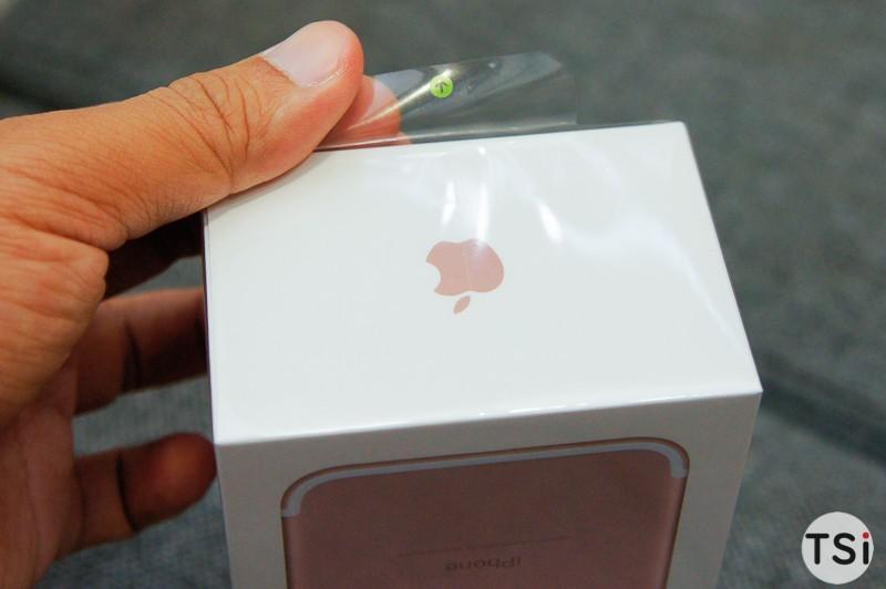 Ảnh thực tế iPhone 7 bản Rose Gold dung lượng 256GB đầu tiên tại Việt Nam