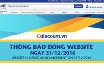 Big C đóng trang thương mại điện tử Cdiscount.vn