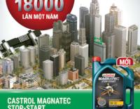 Castrol giới thiệu nhớt dành cho xe hơi chạy trong môi trường thành phố
