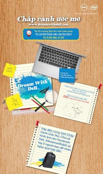 Dell trao tặng 200 laptop cho sinh viên trên toàn quốc