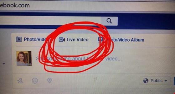Facebook đang dần mở Live Stream trên máy tính