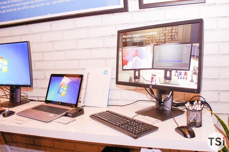 HP hợp tác với nhà phân phối SDJ và ra mắt dãy màn hình mới