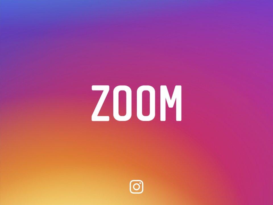 Instagram trên iOS có tính năng dùng 2 ngón để Zoom ảnh và video