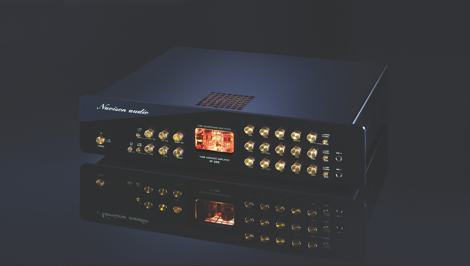 Navison Audio trình làng Karaoke Tube Mixer amplifier No.201: Gấp đôi công suất, chế tác thủ công, kiểm tra linh kiện nghiêm ngặt