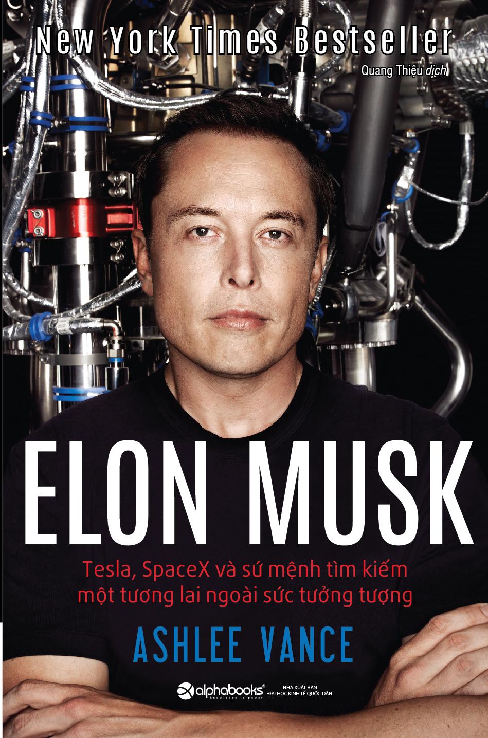 Hiểu hơn về Elon Musk qua quyển sách bán chạy nhất của NYT