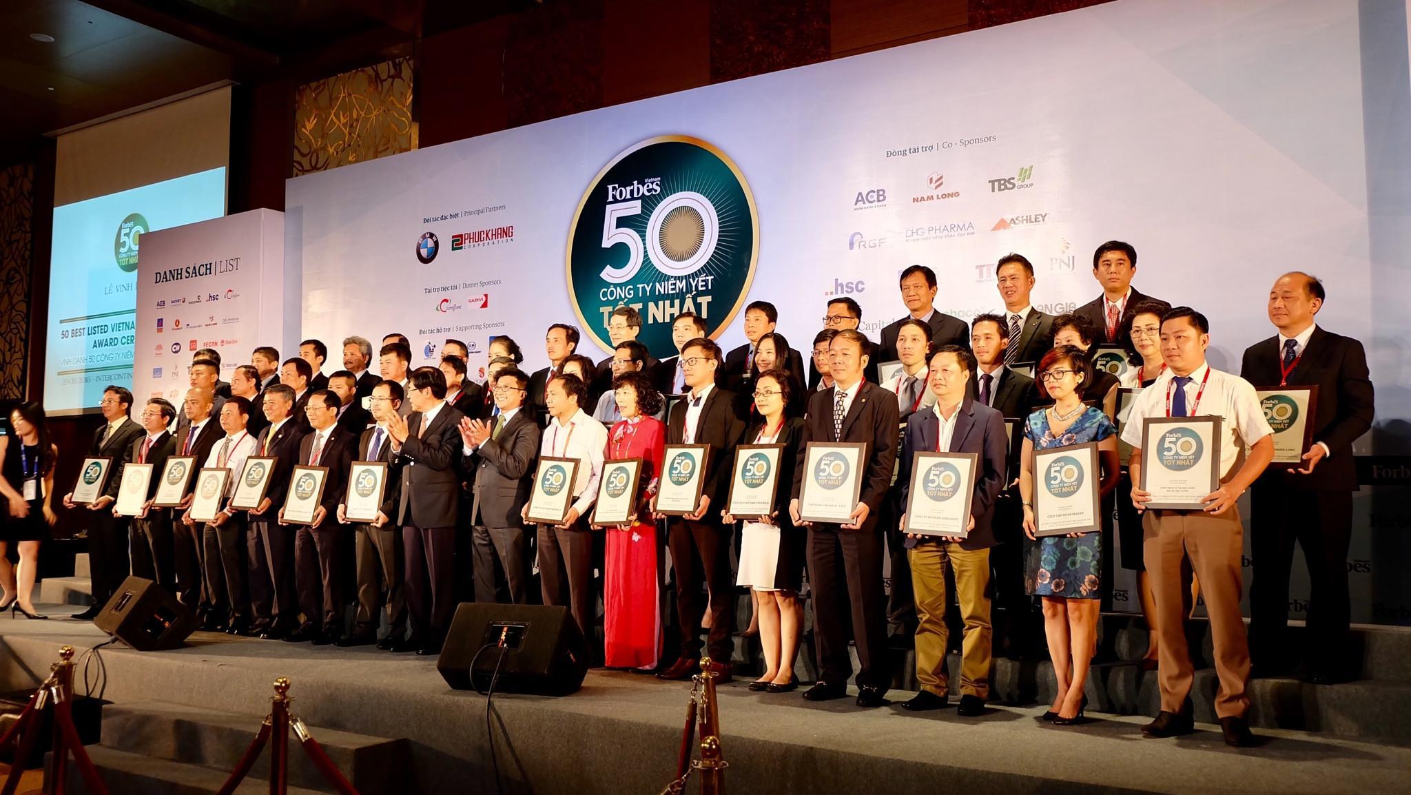 Forbes vinh danh Thế Giới Di Động trong top 50 công ty niêm yết tốt nhất