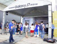 Sôi động buổi mở bán Samsung Galaxy J7 Prime tại TP.HCM