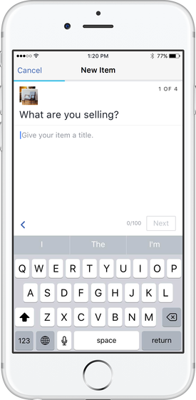 Facebook ra mắt Marketplace