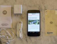 Hình ảnh mở hộp Moto E Power