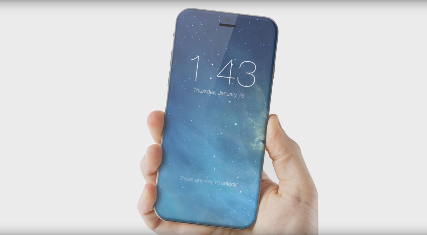 Tin đồn về iPhone 8: có 3 kích cỡ và mặt lưng dùng kính