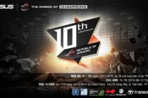 Asus ROG kỷ niệm 10 năm chinh phục cộng đồng game thủ