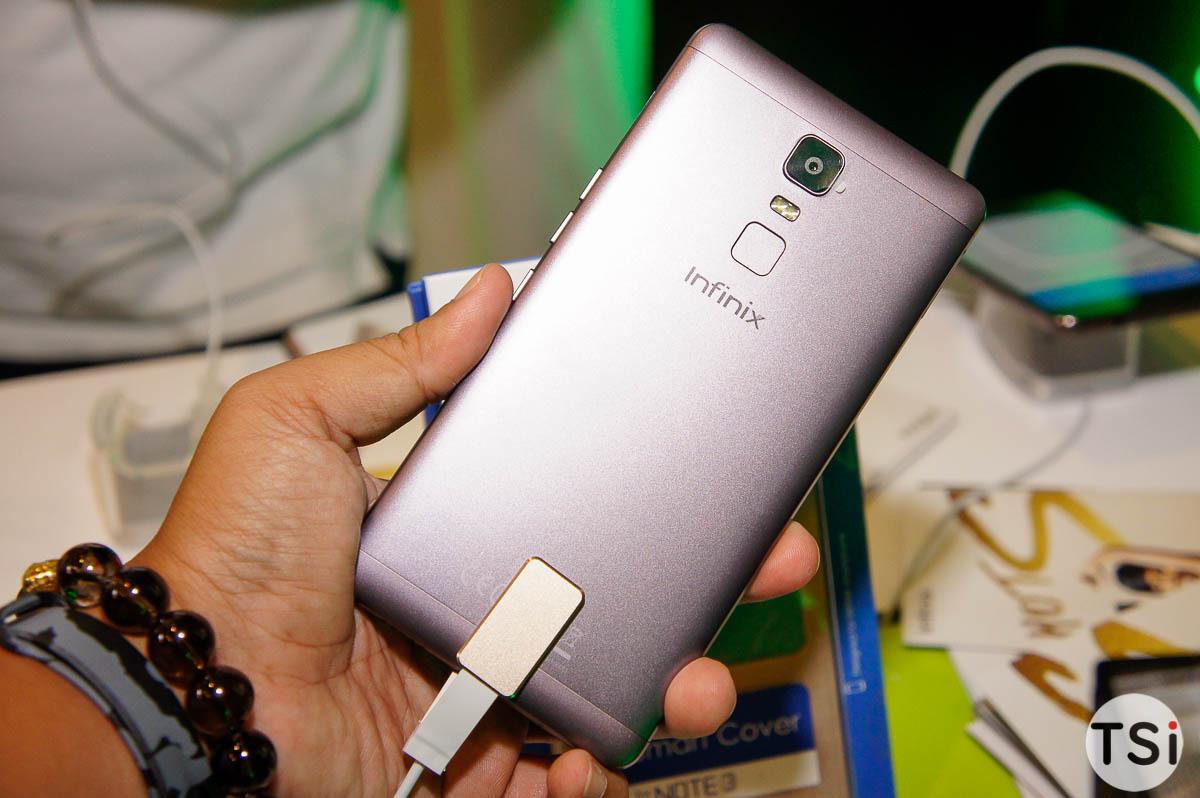 Infinix Note 3, Hot 4 với cảm biến vân tay và pin khủng chính thức ra mắt thị trường Việt