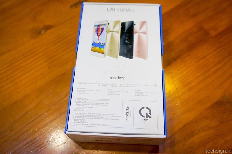Mở hộp Mobiistar Lai Yuna X bản chính thức