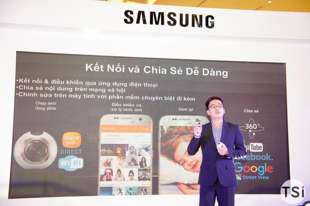 Samsung Gear 360 chính thức giá 7 triệu đồng, lên kệ từ 22/10