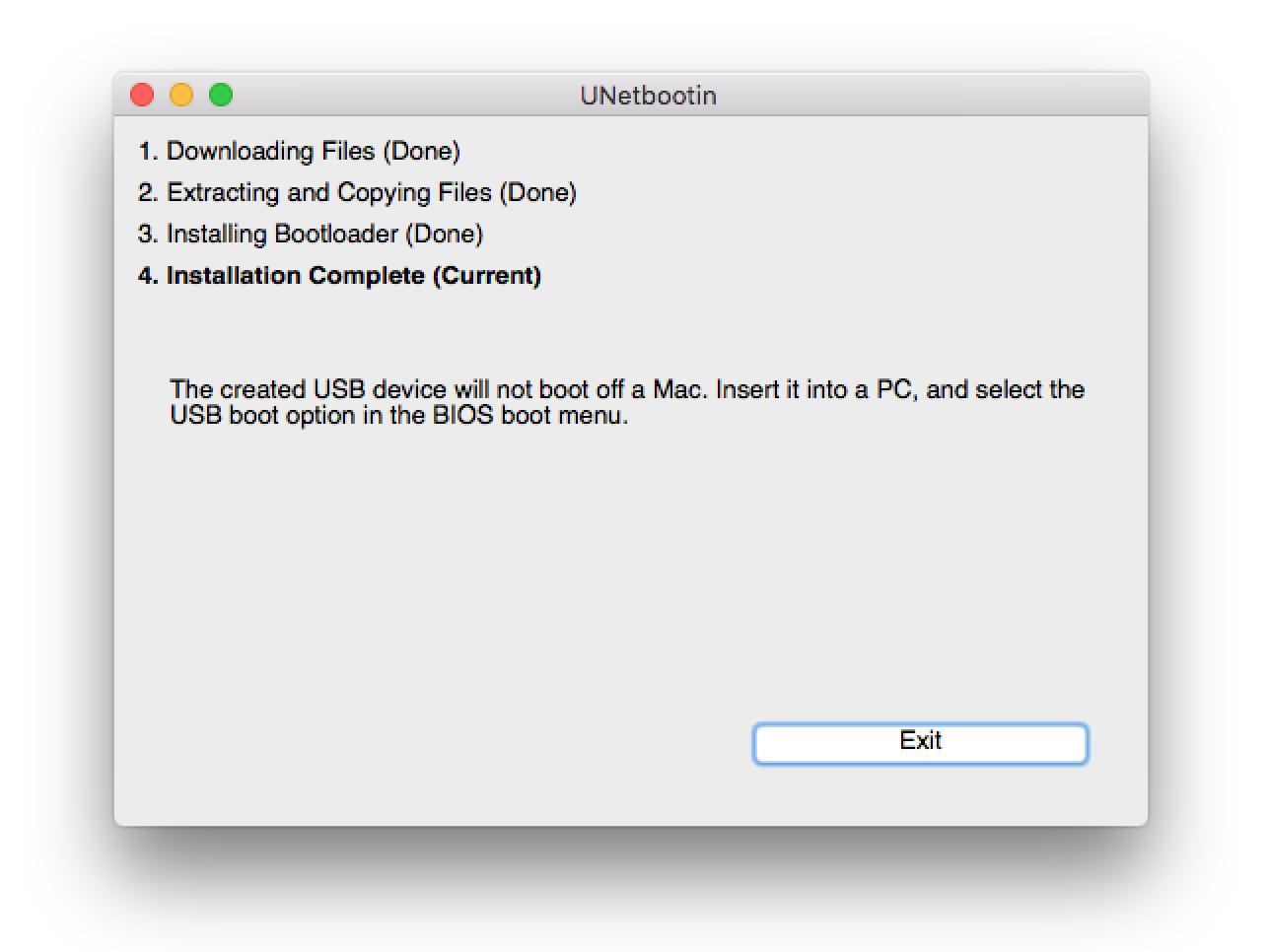 Tạo bộ cài Windows 7,8 từ USB trên máy tính Mac