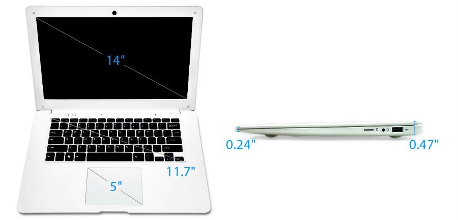 Pinebook, laptop chạy Linux giá 99 USD