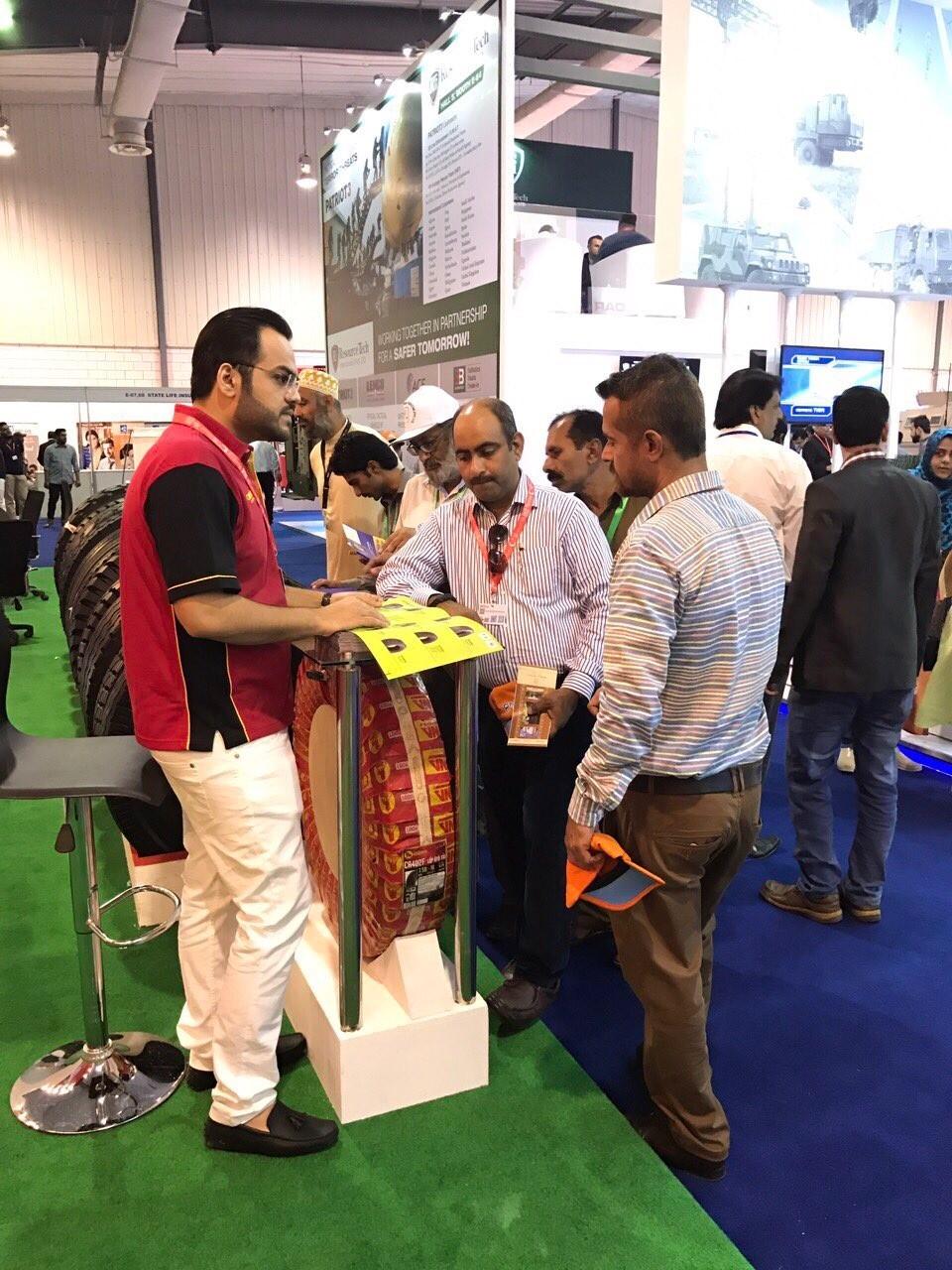 Casumina có mặt tại triển lãm vũ khí Pakistan