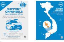 Dell có dịch vụ bảo hành lưu động Support On Wheels