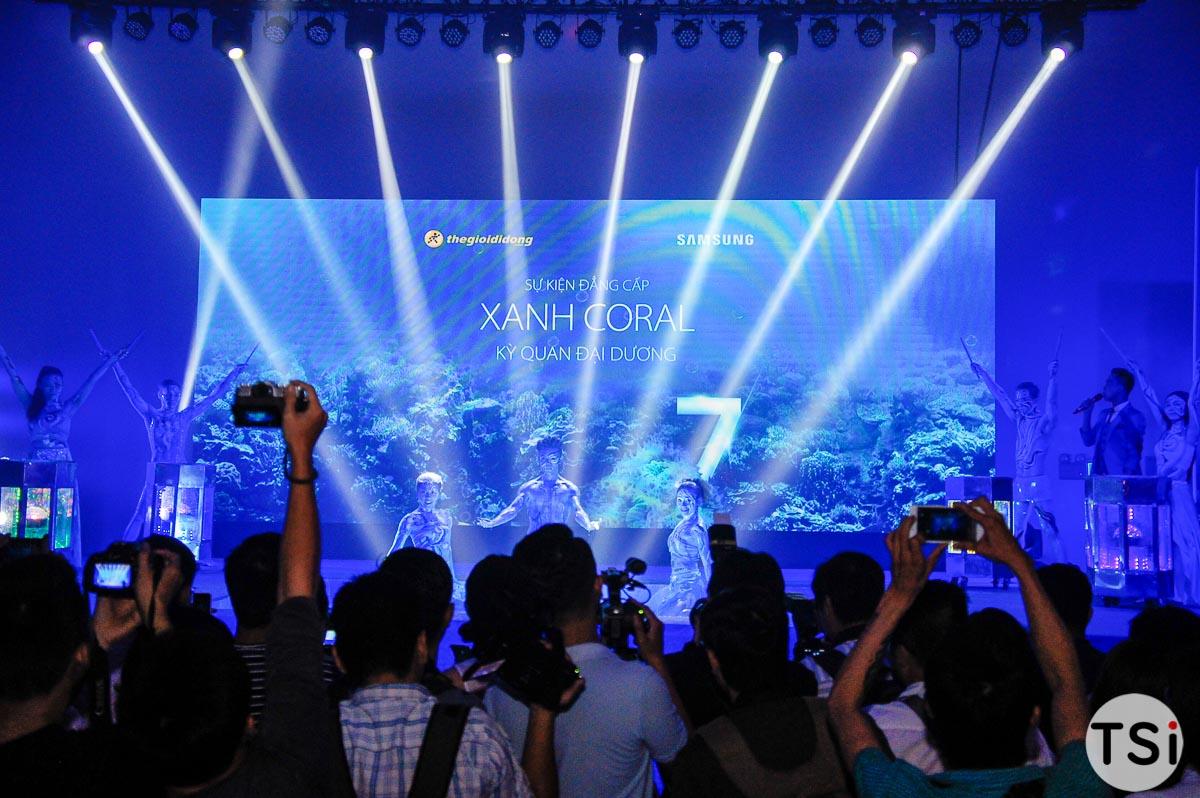 Galaxy S7 edge Xanh Coral bán độc quyền tại Thế Giới Di Động và Điện máy Xanh
