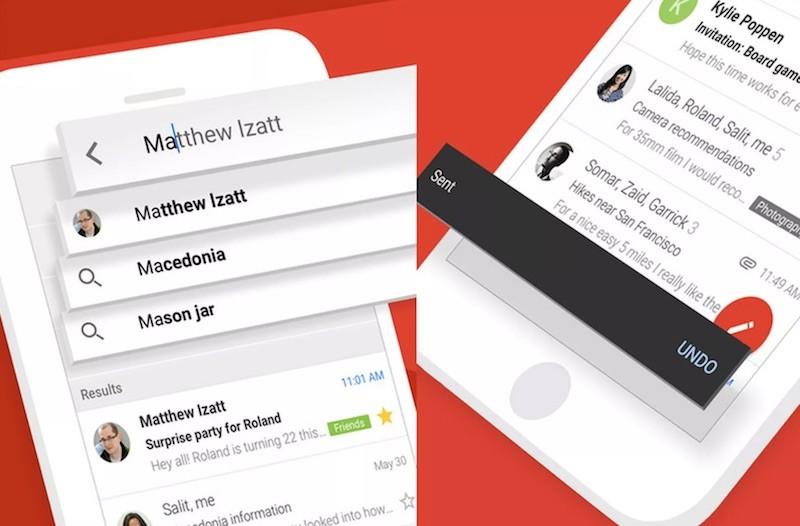 Gmail trên iOS được cập nhật tính năng Undo Send