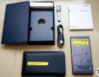 Mở hộp máy chiếu di động Sony MP-CL1A