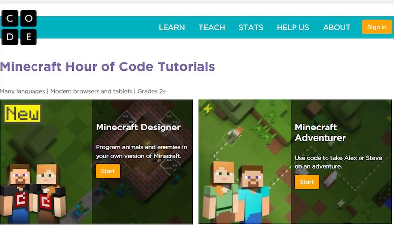 Microsoft miễn phí phiên bản MineCraft Hour of Code Tutorial