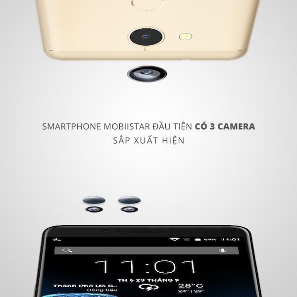 Mobiistar tiết lộ smartphone mới có đến 3 camera