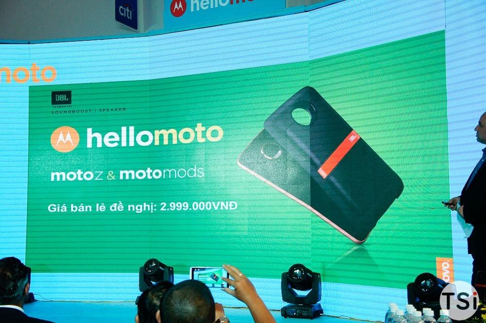 Moto Z, Z Play lên kệ giá 10 và 16 triệu đồng, có nắp lưng hoán đổi Moto Mods