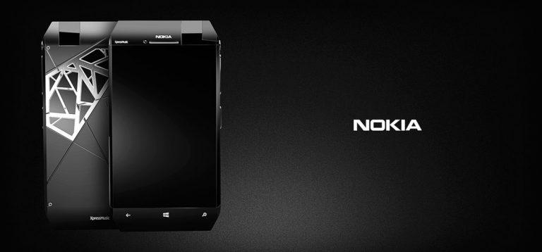 Xuất hiện mẫu concept Nokia XpressMusic NX
