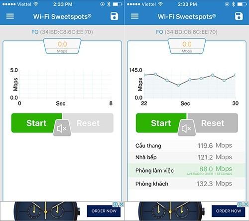 Tăng tốc độ Wi-Fi trong nhà đơn giản với smartphone