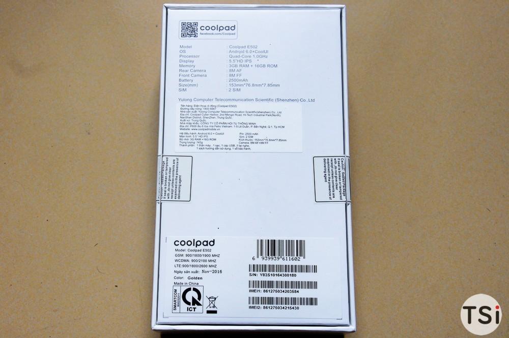 Ảnh mở hộp Coolpad Sky 3 Pro, đang bán độc quyền tại FPT Shop