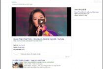 Zing MP3 bị Google trừng phạt trên kết quả tìm kiếm?