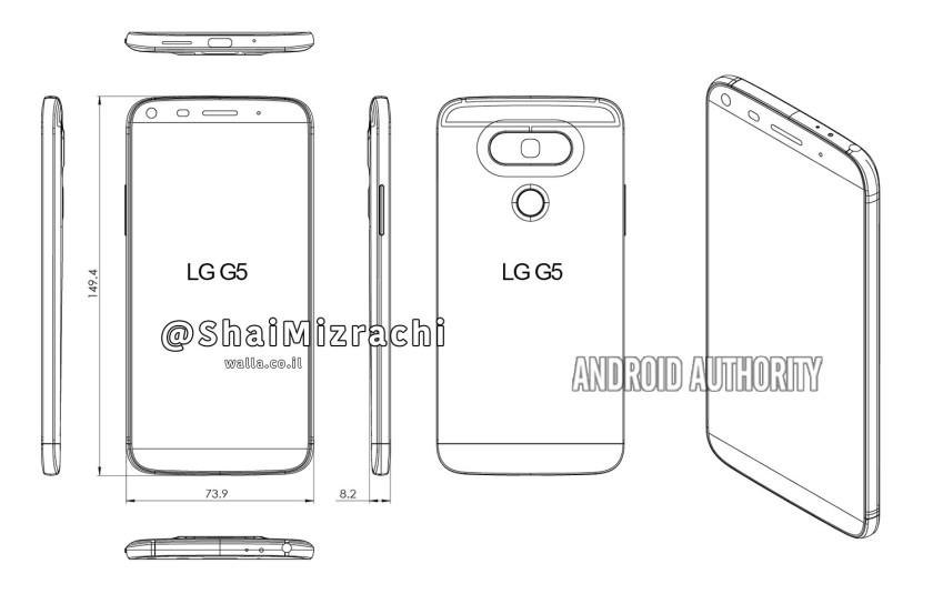 Ảnh render dựa trên rò rỉ LG G6, thiết kế thừa hưởng LG G5 rất nhiều