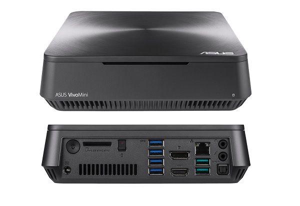 Asus lên kệ máy tính VivoMini VM65 & VM65N dùng vi xử lý Intel Kaby Lake