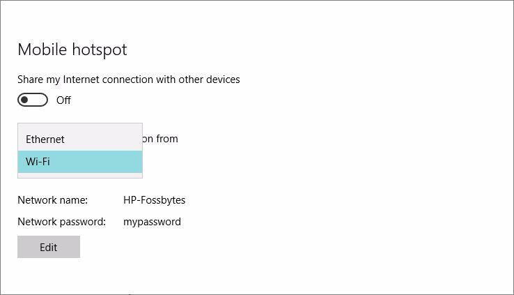 Phát WiFi trên Windows 10 không cần dùng phần mềm
